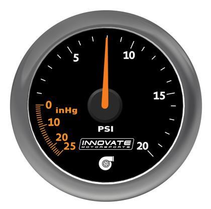ZEGAR Innovate 52mm Vacuum/Boost 1.3 bar MTX-A - GRUBYGARAGE - Sklep Tuningowy